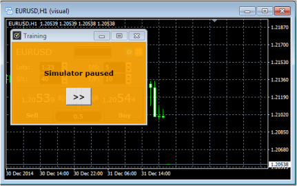 FX Blue Trading Simulator v3 for MT4 - User guide