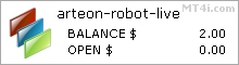 Arteon Forex Robot - Live Account Statement