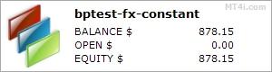 Broker Profit Real Test - FX CONSTANT stats