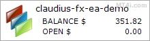 Claudius Forex EA - Live Account Statement
