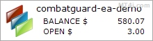 CombatGuard Forex EA - Demo Account Statement