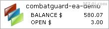 Combat Guard外汇机器人 - 模拟账户测试结果使用EURUSD和GBPUSD货币对 - 统计增加了2018