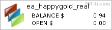 Happy Gold EA - Live Account Statement