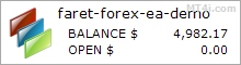Faret Forex Robot - Demo Account Test Results Using This FX Expert Advisor And Forex EA With EURUSD, GBPUSD, USDCHF, USDJPY And AUDUSD Currency Pairs - Stats Added 2017
