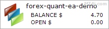Forex Quant FX Robot - Demo Account Test Results Using EURUSD And GBPUSD Currency Pairs - Stats Added 2017