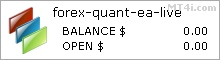 Forex Quant EA - Live Account Statement