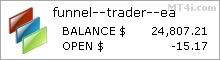 Funnel Trader EA - Live Account Trading Results Using This Forex Expert Advisor And FX Trading Robot With EURUSD, GBPUSD, USDJPY, AUDUSD, NZDUSD, EURJPY, GBPJPY, AUDJPY And NZDJPY Currency Pairs - Real Stats Added 2016