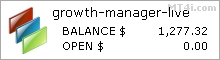 FX成长经理外汇机器人 - 真实账户的交易结果使用欧元兑美元,美元兑瑞郎,欧元兑英镑,美元兑加元,GBPCAD,GBPCHF,英镑兑美元和EURCAD货币对