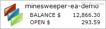 Minesweeper FX Bot - Demo Account Test Results Using GBPUSD Currency Pair - Stats Added 2017