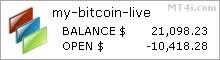 My Bitcoin Bot - Live Account Statement