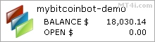 My Bitcoin Bot - Demo Account Test Results Using This FX Expert Advisor And Forex Robot With BTCUSD Pair - Stats Added 201