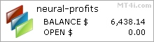 Forex Neural Profits - Live Account Statement
