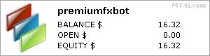 Premium FX Bot stats
