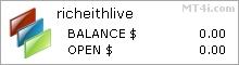 Richeith Forex EA - Live Account Statement