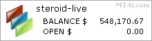 Forex Steroid EA - Live Account Statement