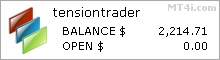 Tension Trader EA - Live Account Statement