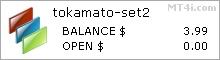 Tokamato Forex Trading Robot - Демо счет Результаты тестирования Использование GBPUSD валютную пару